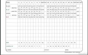 Pumpkin Ridge Golf Ghost Creek by Pumpkin Ridge Gc Actual Scorecard Course Database