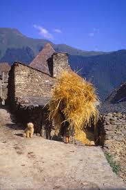 Threshing Floor Definition In Spanish by Village In The Pyrenees