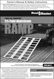 Manual For The 90018 1500 Lb. Tri Fold Aluminum Loading Ramp Titan Pair Alinum Lawnmower Atv Truck Loading Ramps 75 Arched Portable For Pickup Trucks Best Resource Ramp Amazoncom Ft Alinum Plate Top Atv Highland Audio 69 In Trifold From 14999 Nextag Cheap Find Deals On Line At Alibacom Discount 71 X 48 Bifold Or Trailer Had Enough Of Those Fails Try Shark Kage Yard Rentals Used Steel Ainum Copperloy Custom Heavy Duty Llc Easy Load Ramp Teamkos Product Test Madramps Dirt Wheels Magazine