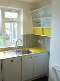 Custom Built Retro 50s Kitchen With Formica Worktop