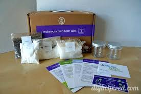 Spa Night Isnt Complete Without A DIY Bath Salts Kit We Made And Packaged Some Pretty Lavender To Give Our Friends