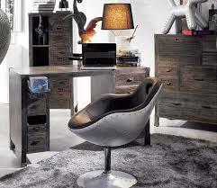 bureau loft industriel commode en bois massif design indutriel loft 8 tiroirs
