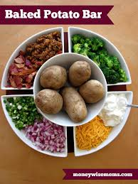 15 Frugal Meals For A Small Grocery Budget | Baked Potato Bar ... Mashed Potato Bar Vessels Food And Display Ideas Pinterest Baked Potato Bar Recipe Mashed Toppings Wedding Tbrbinfo Best 25 Toppings On Crock Pot Picmonkey Image 31 Recipes Misc Foodie Stuff Chili Cookoff Party Bubbly Design Co A Fully Loaded Guide To The Ultimate Serious Eats For Ideas On Stuffed Sweet Potatoes Are Like Sweet Potatoes Only Better Easy Favorite Moneywise Moms Tropical Diy Shower The Bajan Texan