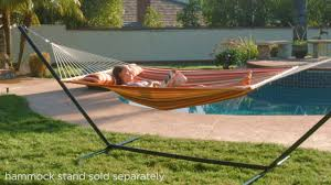 Best Choice Products Quilted Double Hammock With Pillow - SKY3272 ... Fniture Indoor Hammock Chair Stand Wooden Diy Tripod Hammocks 40 That You Can Make This Weekend 20 Hangout Ideas For Your Backyard Garden Lovers Club I Dont Have Trees A Hammock And Didnt Want Metal Frame So How To Build Pergola In Under 200 A Durable From Posts 25 Unique Stand Ideas On Pinterest Diy Patio Admirable Homemade To At Relax Your Yard Even Without With Zig Zag Reviews Home Outdoor Decoration