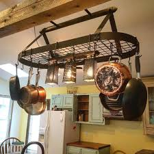 How To Choose The Right Rack For Hanging Pots And Pans Kitchen Pan