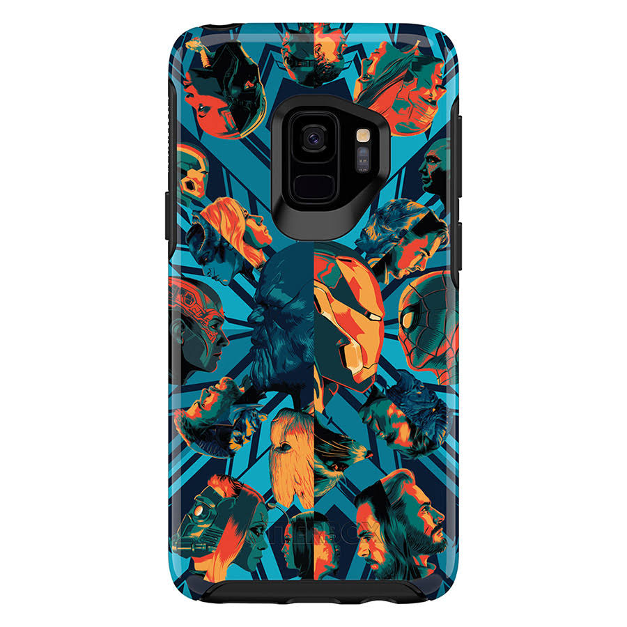 OtterBox Symmetry Series Cover for Galaxy S9 - Infinity War/Black