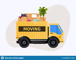 100 Moving Truck Company And Cardboard Boxes House Transport