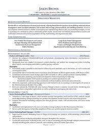 Marketing Director Resume Example