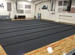 Flooring Gym Floor Covers Basketball Court Tarps Solid Plastic Cdr Installed Velcro 72 1 400x297