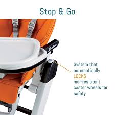 Tatamia High Chair Video by Amazon Com Peg Perego Siesta Highchair Mela Childrens