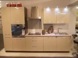 details zu küche schränke küchenzeile erweiterbar beige glanz mdf fronten neu schnell