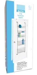 Over The Door Bathroom Organizer by Amazon Com 5 Tier Over The Door Storage Organizer Bathroom