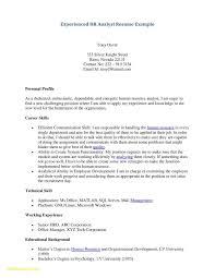 Sample Resume For Teacher Profile New Free Template Fresh Examples Teachers Of