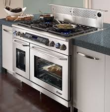 Dacor ER48DSCHNG 48 Inch Freestanding Dual Fuel Range with 4 6 cu ft Primary Oven Capacity 3 500 W Broil Element 6 Sealed Burners 18 000 BTU