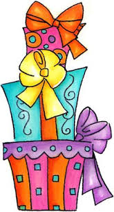 Birthday present clipart 8