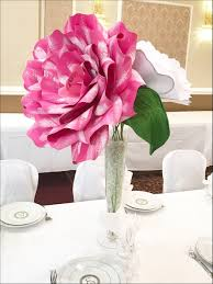 Amazing X Large Paper Flower Centerpiece Giant With Table Decor Flowers