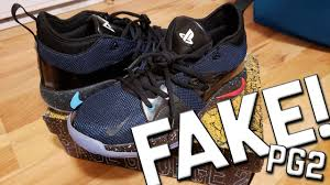 100 Where Is Dhgate Located Fake Paul George PG 2 Playstation Nike Shoes Unboxing From DHgate