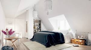 Best Eclectic Attic Room Interior With Sloped Ceiling And Wood Floor