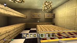 Minecraft Kitchen Ideas Pe by Minecraft Ps4 Edition Making A Kitchen Youtube