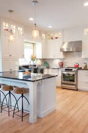 Contemporary Classic Open Concept Kitchen Design With Dinning AR