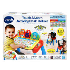 Toys R Us Deluxe Art by Vtech Touch And Learn Activity Desk Deluxe Interactive Learning