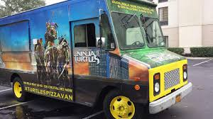 Teenage Mutant Ninja Turtles Pizza Van To Visit 10 Cities With Free ... Teenage Mutant Ninja Turtles Out Of The Shadows Turtle Tactical Sweeper Ops Vehicle Playset Toysrus Tagged Truck Brickset Lego Set Tmachines Raph In Monster Drag Race Grave Digger Vs Teenage Mutant Ninja Turtles 2 Dump Party Wagon Revealed Wraps With 7 Million Local Spend Buffalo Niagara Film Pizza Van To Visit 10 Cities With Free Daniel Edery Large Teenage Mutant Ninja Turtle Truck Northfield Edinburgh