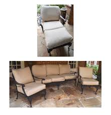 Smith And Hawkins Patio Furniture Cushions by Collection Of Smith And Hawken Wrought Iron Patio Furniture Ebth