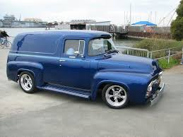 PERFECT! 56 Ford F100 Panel Truck Love Me A Good Panel Truck ...