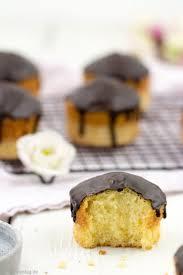 muffins mit crème fraîche und schokolade tulpentag