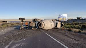 100 Truck Rollover Driver Hurt After Cement Truck Rolls On Interstate 10 South Of The