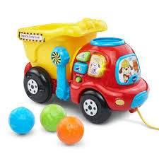 Amazon.com: VTech Drop & Go Dump Truck (Frustration Free Packaging ...
