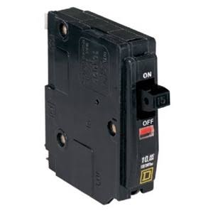 QO 15-Amp Single-Pole Circuit Breaker