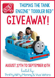step2 thomas the tank engine toddler bed giveaway our piece