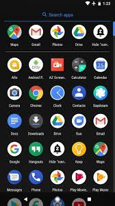 Same goes for the app drawer background in the Pixel Launcher so you no longer have to shock your eyes at night with those bright white backgrounds just to