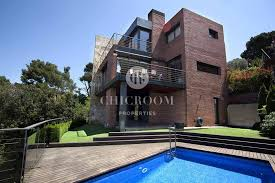 5 Bedroom Homes For Sale by 5 Bedroom House With Sea View For Sale In Vallvidrera Barcelona
