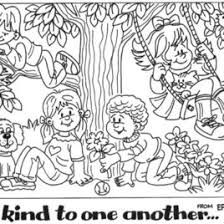 Coloring Pages Bible Friendship Best Page
