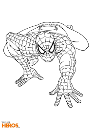 The Amazing Spider Man Coloring Pages To Print 8