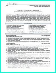 Examples Of Resumes Resume Template Construction Worker Pertaining To Awesome Work