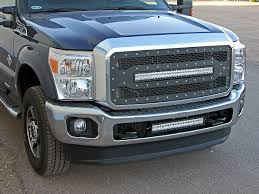 2011-2016 F250/F350 Rigid Industries LED Grille E-Series 40566