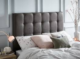 Roma Tufted Wingback Headboard by Headboard Pictures