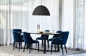 Globewest Blue Daphne Dining Chair