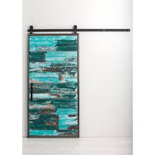 Rustica Hardware 36 In. X 84 In. Mountain Modern Aqua Wood Barn ... Best 25 Barn Door Closet Ideas On Pinterest Bathroom Barn Door Hdware Knobs The Home Depot Wood Doors Interior Closet Modern For Arched Doorway Httpwwwhomedepot Mmi 36 In X 80 Poplar 15lite With 72 Primed Craftsman Smooth Surface Solid Decorate All Design Ideas Rustica 84 Mountain Aqua Latch Types Latches Sliding Size Of Comely Jeff Lewis At Popsugar Steves Sons Full Lite Rain Glass Stained
