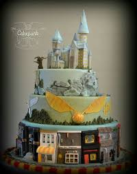 pin by quezada on matrimonio harry potter cake