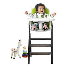 buy oxo tot sprout highchair green walnut john lewis