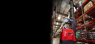 100 Raymond Reach Truck Fork Narrow Aisle Forklift