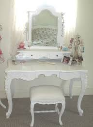 Shabby Chic Bathroom Vanity Light by Bathroom Simple Chic Wooden Make Up Vanity With Frame Glass