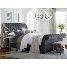 Art Van Bombay King Upholstered Bed