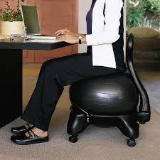 Yoga Ball Desk Chair Benefits by Gaiam Balance Ball Chair
