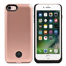IPhone 7 External Battery Backup Case Charger Power Bank 3800mAh