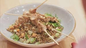 gewusst wie rachs 5 küche satéspieße mit lauwarmem linsensalat